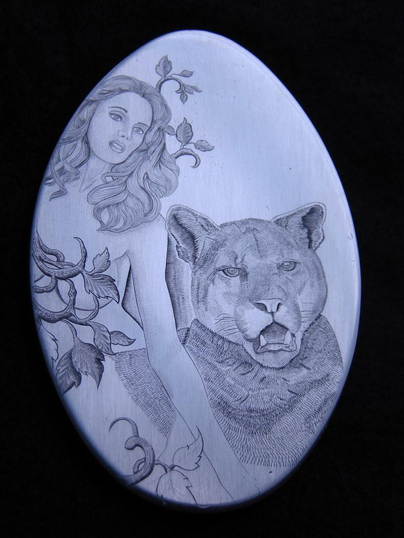 In 2010 Joe completed a Grand Masters engraving class. This is his project.